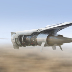 sci-fi jet fighter by silberius