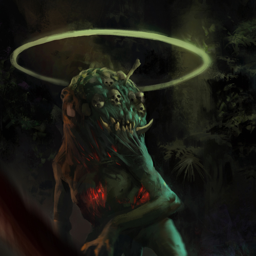 Kurth The Demon Of The Forest by hugo.richard