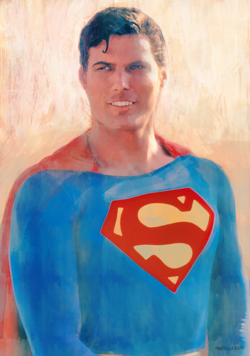 Display jumbo superman10th