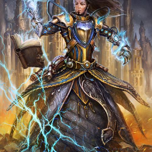 Wizard Avatar by artofinca