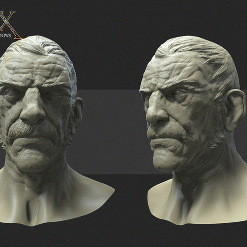 Styx Master Of Shadows   Head 03 by samuelcompain
