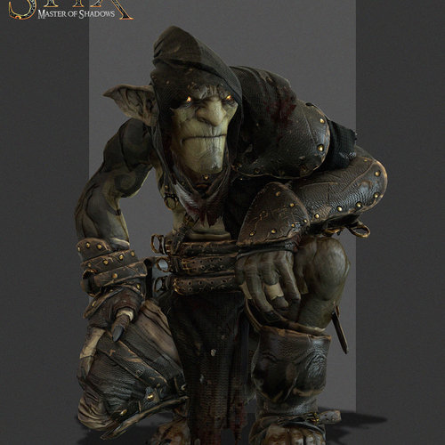Styx Master Of Shadows   Rackah Pose 02 by samuelcompain