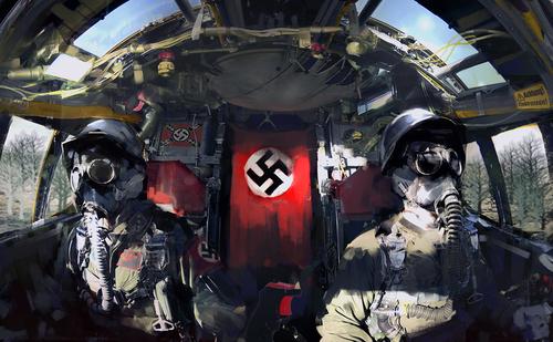 Display jumbo nazipilotz
