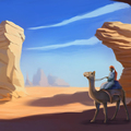 camel rider by phuansuriya