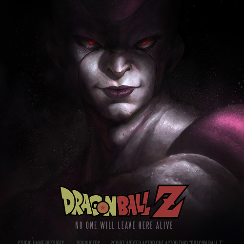 Dragon Ball Z Frieza Fanart by wwysocki