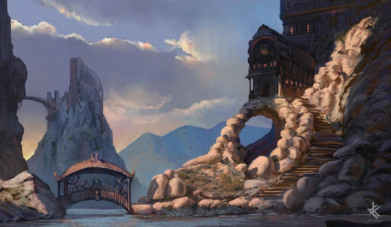 hillside inn by chriskarbach