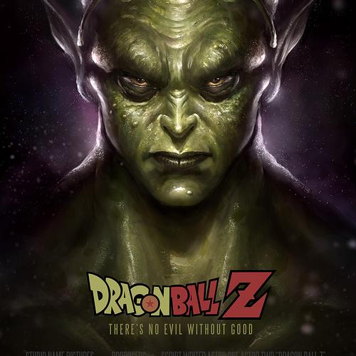 Dragon Ball Z Piccolo Fanart by wwysocki
