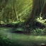 Thumb matte painting environment fantasy forest concept
