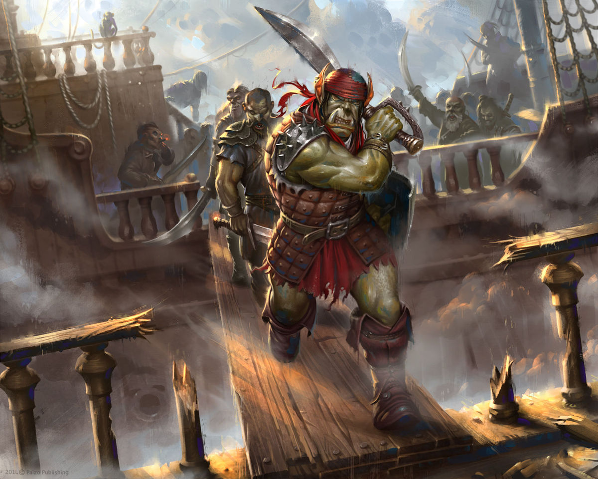 nasty pirates by firatsolhan