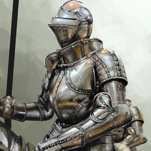 Knight 01 by samuelcompain