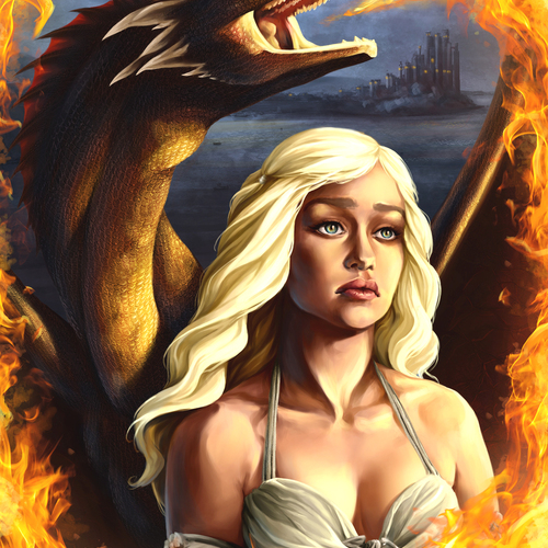 The Mother Of Dragons by catherinesteuer