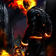 ghost rider by caglayang