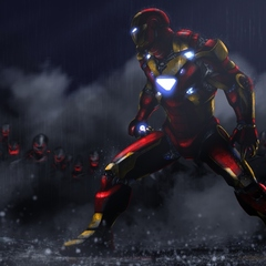 iron man by caglayang