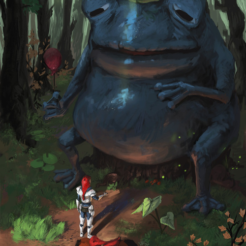 Thumb jumbo knight and the blue frog2