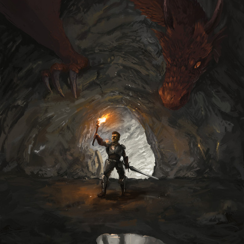 Thumb jumbo dragonden