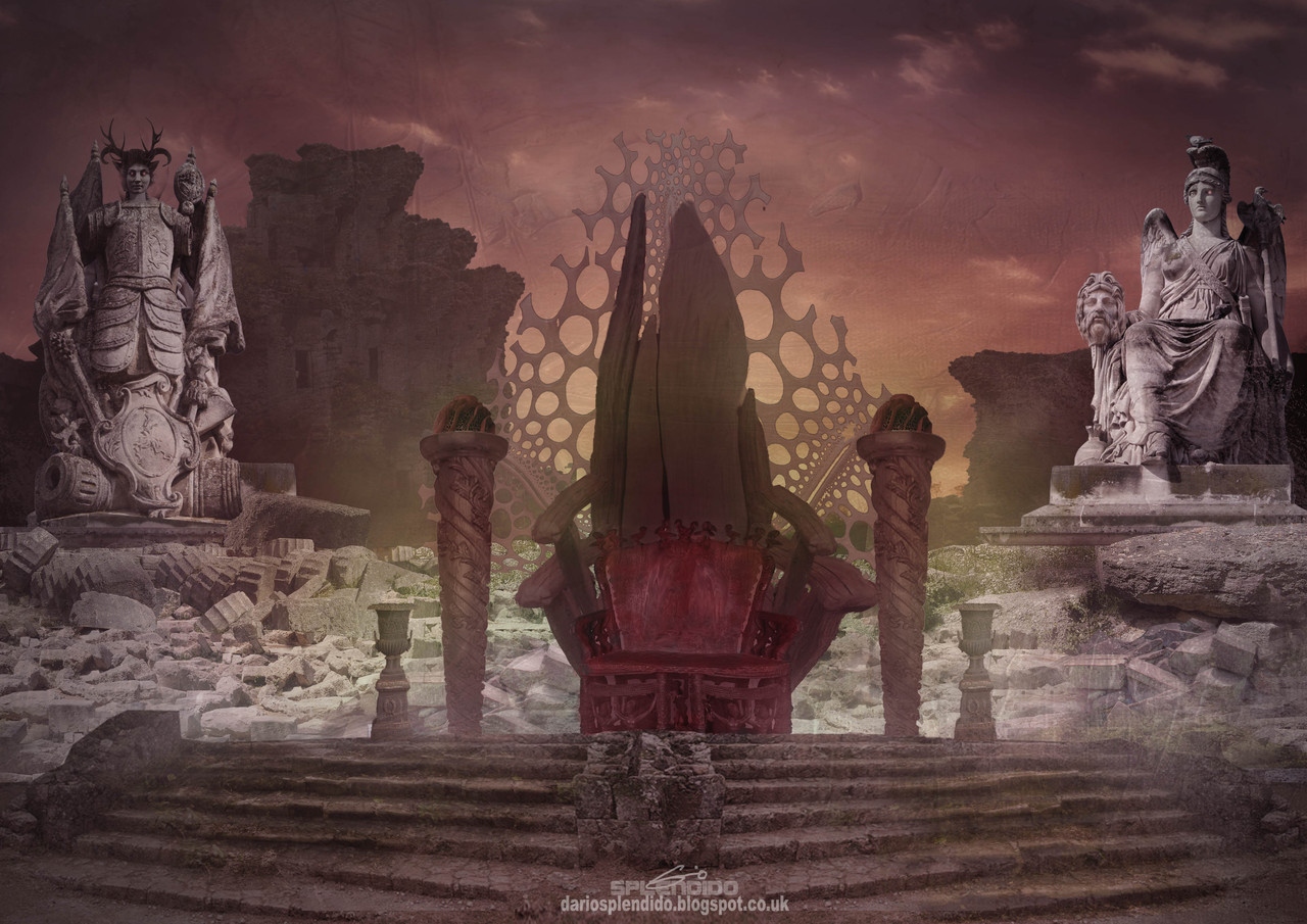 the abandoned throne by dariosplendido
