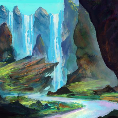 Valloroth Falls by samwhite