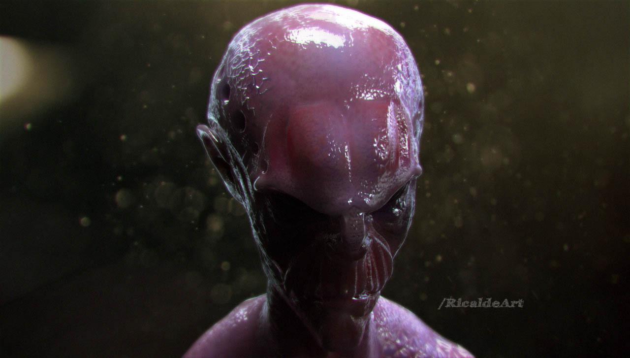 alien by ricaldeart
