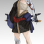 character design - technolized samurai by waystone