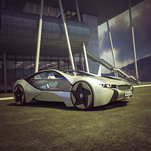 Bmw Vision Efficient Dynamics by olegpaint