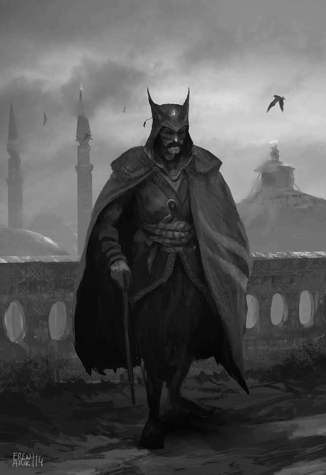 ottoman batman by erenarik