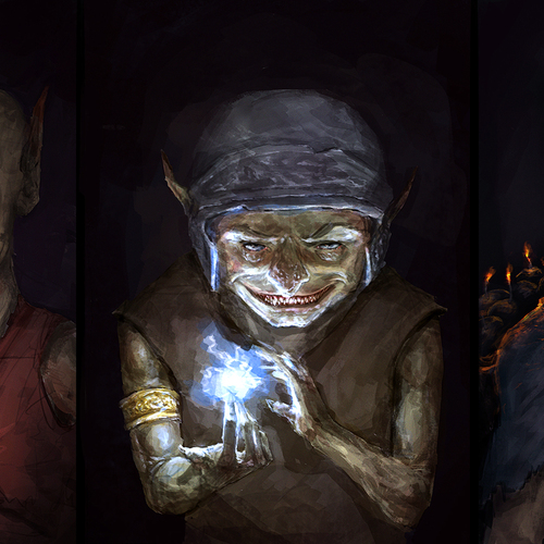 Goblin Concepts by othrandir