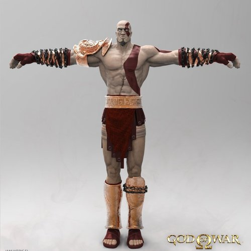 Kratos Turnaround1 by janh
