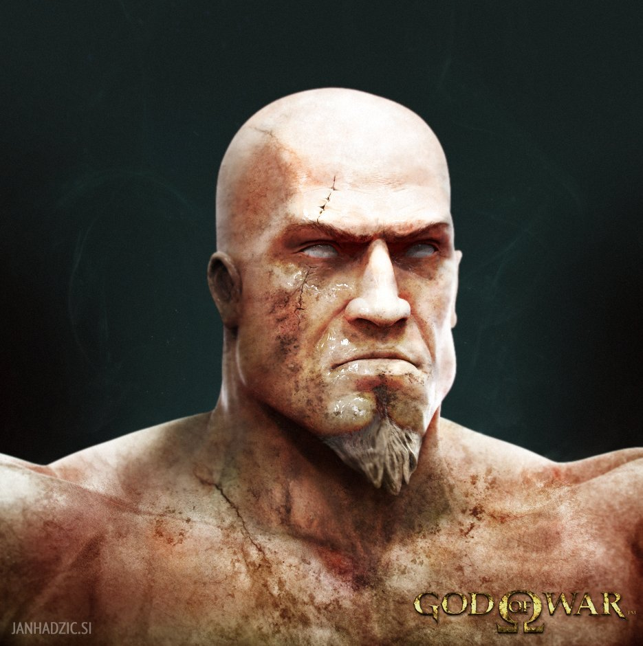 kratos by janh