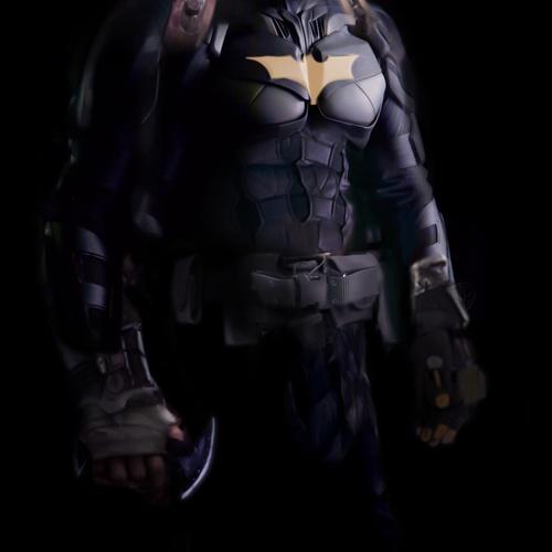 Batman Redesign by davidcorzine