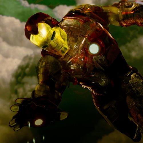 Steampunk Iron Man by davidcorzine