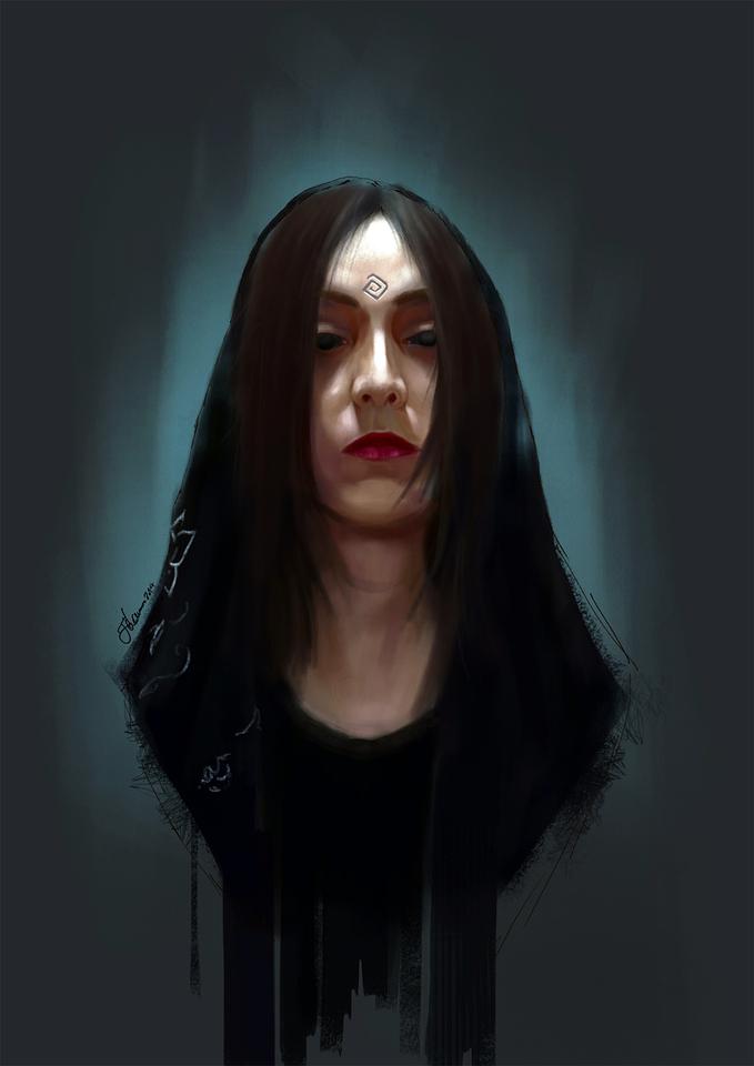 portrait by filoo