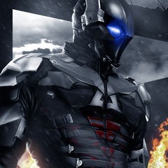 arkham knight by artofasher