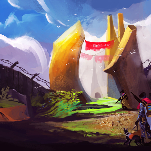 Border Land by nazmul