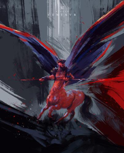 Display jumbo winged centaur 2