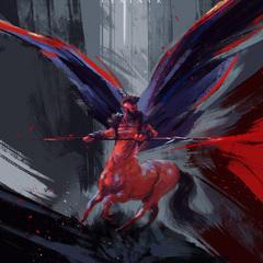 winged centaur