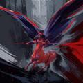winged centaur by afanur