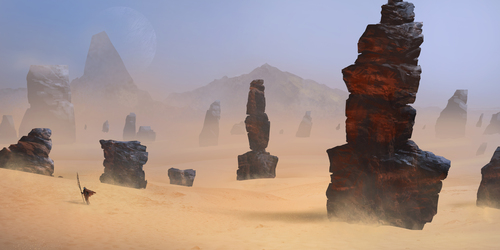 Pillars Of The Ancients by Mark Molnar