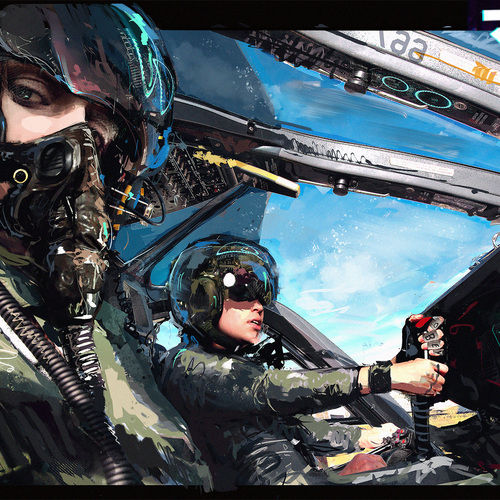 Pilot Selfie by klauswittmann