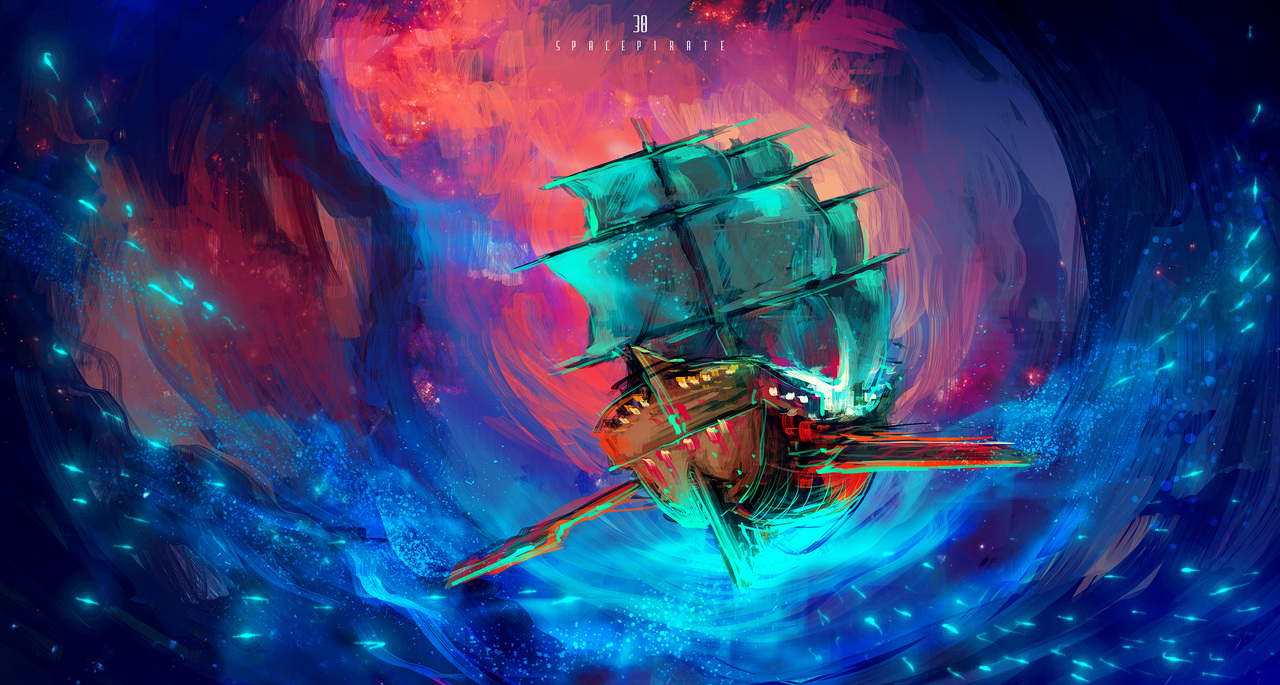 space pirate by afanur