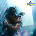 sonic the hedgehog by alexcash1