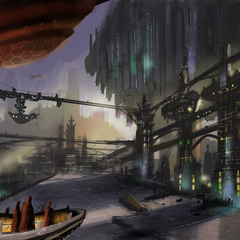 sci - fi env study by dariosplendido