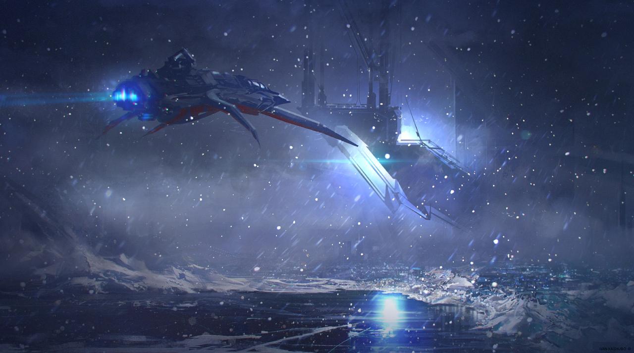 snowflake city by kashivan