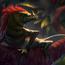 draconic lizard by hugo.richard