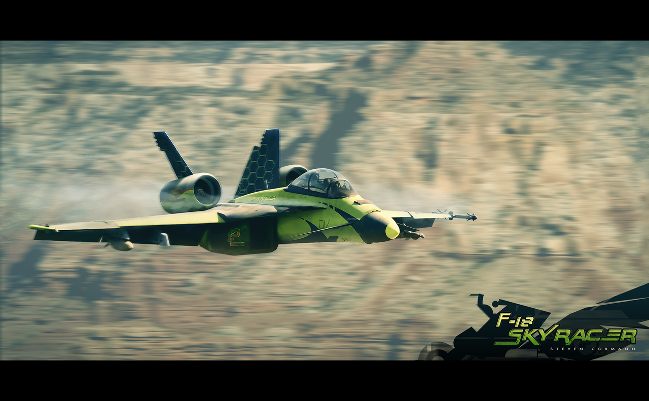 f-18 skyracer by stevencormann