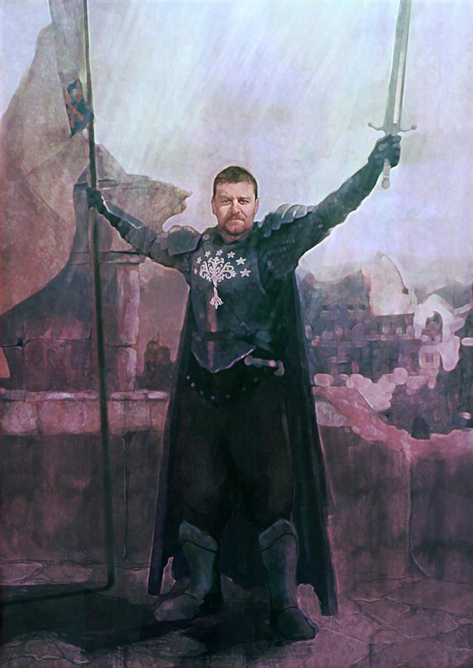 gondor knight by chemamansilla