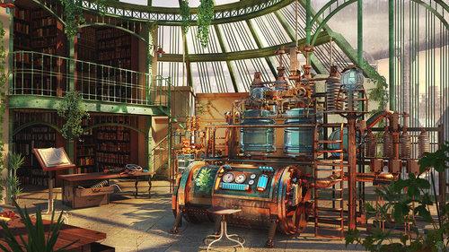 Display jumbo the alchemist laboratory by kashuse d85dub1