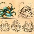 medusa character design by catherinesteuer