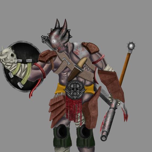 Barbarian by brushninja
