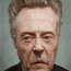 christopher walken caricature painting by orangebuddhas