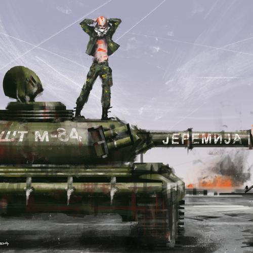 Tribal Tank by raschomon